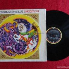 Discos de vinilo: BOB MARLEY & THE WAILERS - CONFRONTATION // LP // 1983 // GERMANY // PORTADA ABIERTA. Lote 57043390