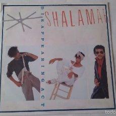Discos de vinilo: SHALAMAR - DISAPPEARING ACT - 1983. Lote 57044883