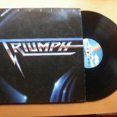 Discos de vinilo: LP - TRIUMPH - CLASSICS - EDICION ALEMANA, MCA RECORDS 1989 PEPETO. Lote 57046249