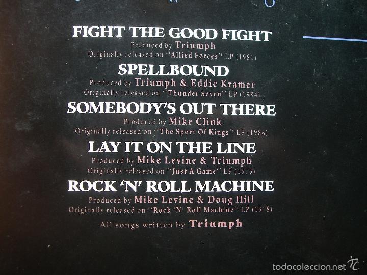 Discos de vinilo: lp - triumph - classics - edicion alemana, mca records 1989 PEPETO - Foto 3 - 57046249