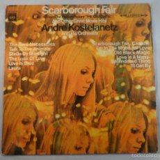 Discos de vinilo: LP ANDREA KOSTELANETZ. SCARBOROUGH FAIR DE LA BSO DE EL GRADUADO (THE GRADUATE). Lote 57046602
