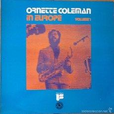 Discos de vinilo: ORNETTE COLEMAN : IN EUROPE VOL. 1 [ESP 1975] LP. Lote 57047953