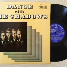 Discos de vinilo: THE SHADOWS DANCE WITH THE SHADOWS LP VINYL MADE IN SPAIN 1964. Lote 57049045