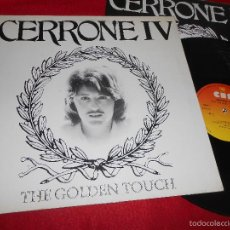 Discos de vinilo: CERRONE IV THE GOLDEN TOUCH LP 1978 CBS EDICION ESPAÑOLA SPAIN GATEFOLD. Lote 57051193