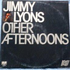 Discos de vinilo: JIMMY LYONS,OTHER AFTERNOONS EDICION ESPAÑOLA DEL 80. Lote 191330031