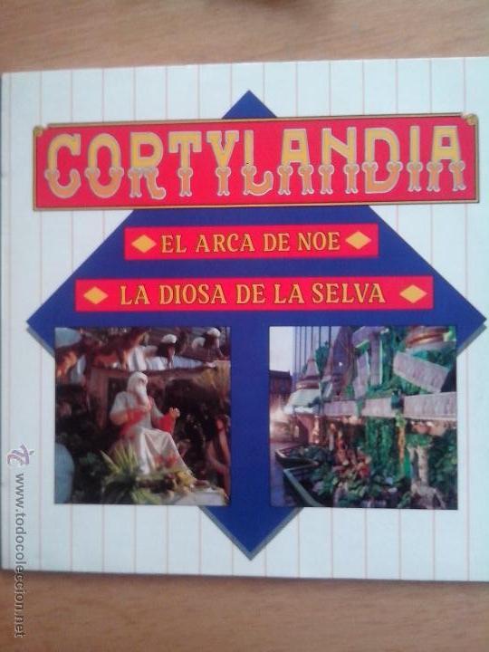 CORTYLANDIA. EL ARCA DE NOE. LA DIOSA DE LA SELVA. 1988 (Música - Discos - LPs Vinilo - Música Infantil)