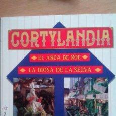 Discos de vinilo: CORTYLANDIA. EL ARCA DE NOE. LA DIOSA DE LA SELVA. 1988. Lote 57057427
