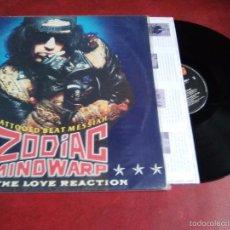 Discos de vinilo: ZODIAC MINDWARP AND THE LOVE REACTION (JUDAS PRIEST,KING KOBRA,VAN HALEN,WHITE TRASH). Lote 57058676