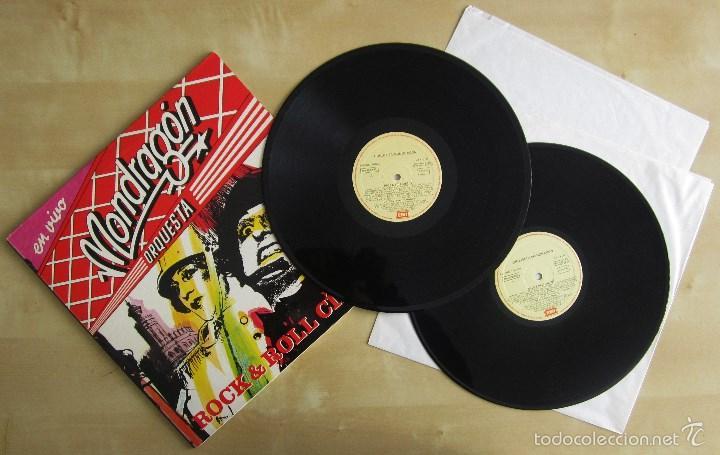 ORQUESTA MONDRAGON - ROCK & ROLL CIRCUS - DOBLE ALBUM VINILO ORIGINAL PRIMERA EDICION EMI 1985 (Música - Discos - LP Vinilo - Grupos Españoles de los 70 y 80)
