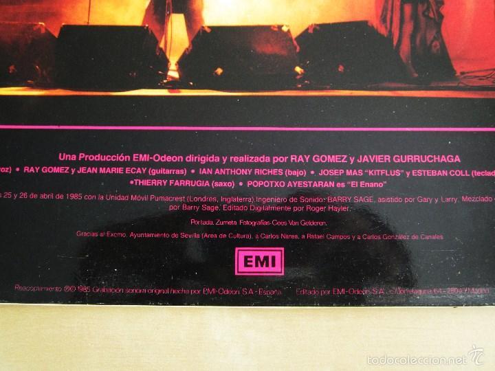 Discos de vinilo: ORQUESTA MONDRAGON - ROCK & ROLL CIRCUS - DOBLE ALBUM VINILO ORIGINAL PRIMERA EDICION EMI 1985 - Foto 4 - 57060018