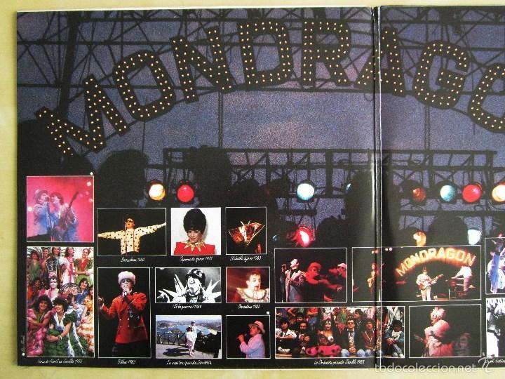 Discos de vinilo: ORQUESTA MONDRAGON - ROCK & ROLL CIRCUS - DOBLE ALBUM VINILO ORIGINAL PRIMERA EDICION EMI 1985 - Foto 6 - 57060018