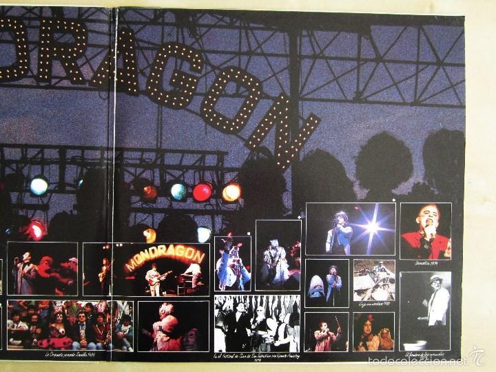 Discos de vinilo: ORQUESTA MONDRAGON - ROCK & ROLL CIRCUS - DOBLE ALBUM VINILO ORIGINAL PRIMERA EDICION EMI 1985 - Foto 7 - 57060018
