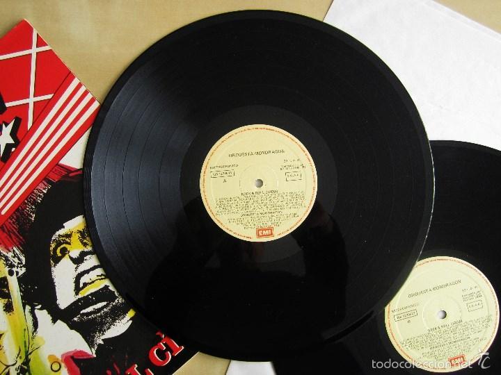 Discos de vinilo: ORQUESTA MONDRAGON - ROCK & ROLL CIRCUS - DOBLE ALBUM VINILO ORIGINAL PRIMERA EDICION EMI 1985 - Foto 8 - 57060018