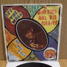 Discos de vinilo: JOHN FRED AND HIS PLAYBOYS. OFF THE WALL. SINGLE-PROMO / CEM - 1968 / **/***. Lote 57060601