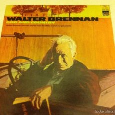 Discos de vinilo: WALTER BRENNAN - (GOD AND COUNTRY) 1970. Lote 57061302