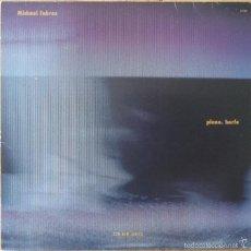 Discos de vinilo: MICHAEL FAHRES : PIANO. HARFE [DEU 1985] LP/1ST EDITION. Lote 57068948