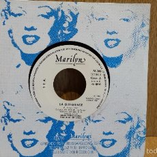 Discos de vinilo: MARILYN. LA DIFFERENCE. SINGLE-PROMO / T.E.A. - 1986 / CALIDAD LUJO ****/****. Lote 57068970