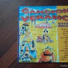 Discos de vinilo: LA CANCION DEL VERANO.MAS DE 40 CANCIONES.2 LP.VER DESCRIPCION. Lote 57071202