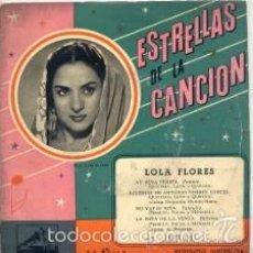 Discos de vinilo: LOLA FLORES: AY, PENA PENITA. BULERÍAS DE ANTONIO TORRES GARCÍA. NO VAYAS, NIÑA. LA NIÑA DE LA VENTA. Lote 57071596