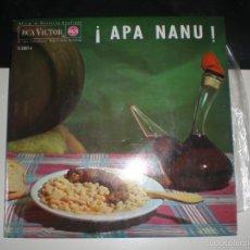 Discos de vinilo: EP APA NANU: SARDANA + 3, - RCA 1964 VG+. Lote 57074615