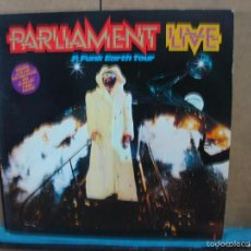 Discos de vinilo: PARLIAMENT - LIVE, P. FUNK EARTH TOUR - CASABLANCA NBLP 7053 - 1977 - 2XLP - EDICION USA. Lote 57076918