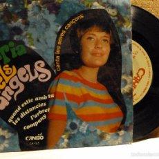 Discos de vinilo: MARIA DELS ANGELS-QUAN ESTIC AMB TU -Y 3 MAS. Lote 57080703