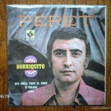 Discos de vinilo: PERET - BORRIQUITO + 3 - EDICIÓN MEXICANA. Lote 57082400