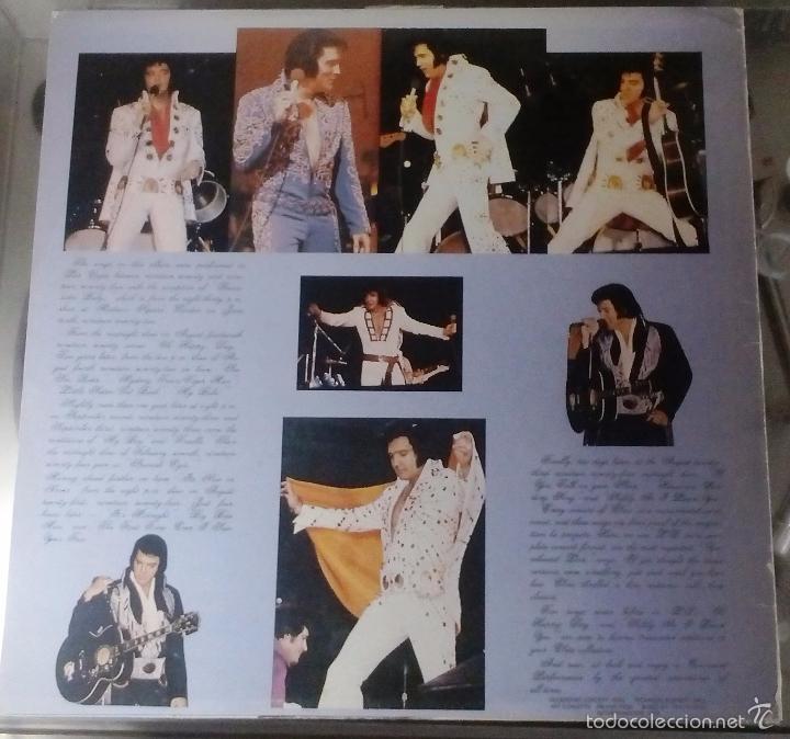 Discos de vinilo: ELVIS PRESLEY - COMMAND PERFOMANCE - live / rare LP - Foto 2 - 57084418