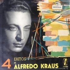 Discos de vinilo: ALFREDO KRAUS - 4 EXITOS DE ALFREDO KRAUS . SINGLE . 1959 MONTILLA. Lote 57085413