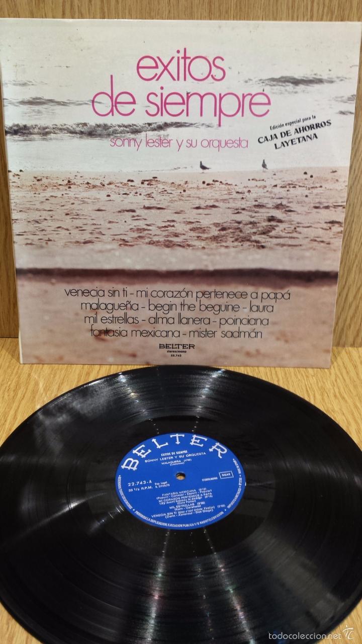 SONNY LESTER Y SU ORQUESTA. ÉXITOS DE SIEMPRE. LP / BELTER - 1973. / MBC. ***/*** (Música - Discos - LP Vinilo - Orquestas)