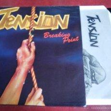 Discos de vinilo: TENSION - BREAKING POINT. Lote 57088337