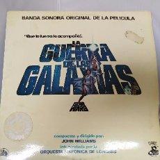 Discos de vinilo: DISCO VINILO STAR WARS LA GUERRA DE LAS GALAXIAS. Lote 57088425
