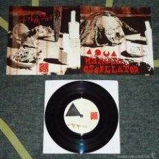 Discos de vinilo: AQUA NEBULA OSCILLATOR - OM NA MIO / FREAK OUT - 7'' [WHO CAN YOU TRUST?, 2013]. Lote 57088474