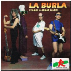 Disques de vinyle: LA BURLA - VAMOS A ARMAR JALEO - SINGLE 1991. Lote 57089155