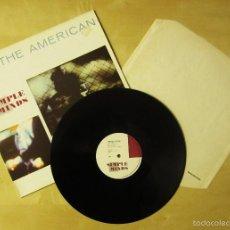 Discos de vinilo: SIMPLE MINDS - THE AMERICAN - MAXI VINILO ORIGINAL 1981 EDICION VIRGIN RECORDS ENGLAND. Lote 57089392