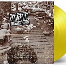 Discos de vinilo: NAILBOMB - PROUD TO COMMIT COMMERCIAL SUICIDE LTD. VINILO AMARILLO 180G LP PRECINTADO. Lote 57090885