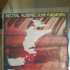 Discos de vinilo: DISCO DE VINILO JOSÉ FALGARONA - RECITAL ALBÉNIZ. Lote 57094560