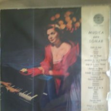 Discos de vinilo: DISCO DE VINILO VARIOS: MÚSICA PARA SOÑAR (AMADEO AVSR 9084, INDUSTRIA ARGENTINA. SIN FECHA). Lote 57094630