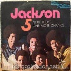 Discos de vinilo: [MICHAEL] JACKSON 5: I'LL BE THERE / ONE MORE CHANCE (TAMLA MOTOWN, SPAIN, 1970). SINGLE VINILO.. Lote 57095866