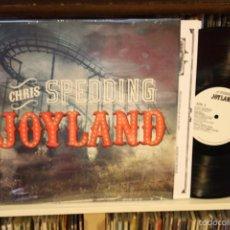Discos de vinilo: CHRIS SPEDDING. JOYLAND. CLEOPATRA RECORDS, 2015, 1º EDICC ORIGINAL, MADA IN USA. Lote 57097003