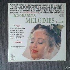 Discos de vinilo: ADORABLES MELODIES ( VOLUME 2 ) --. Lote 57101127