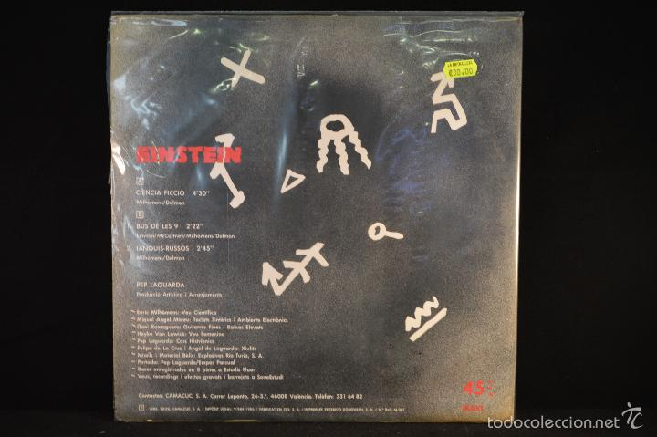 Discos de vinilo: EINSTEIN - CIENCIA FICCIO - MAXI - Foto 2 - 57101557