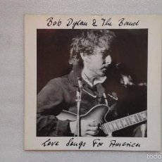 Discos de vinilo: BOB DYLAN - LOVE SONGS FOR AMERICA DOBLE LP 1990 EDICION ALEMANA. Lote 57102039