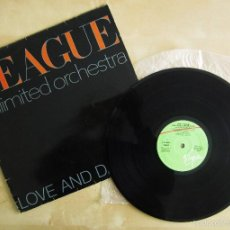 Discos de vinilo: THE LEAGUE UNLIMITED ORCHESTRA - LOVE AND DANCING - VINILO ORIGINAL 1982 EDICION VIRGIN. Lote 57102948