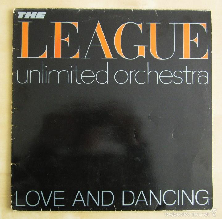 Discos de vinilo: THE LEAGUE UNLIMITED ORCHESTRA - LOVE AND DANCING - VINILO ORIGINAL 1982 EDICION VIRGIN - Foto 2 - 57102948