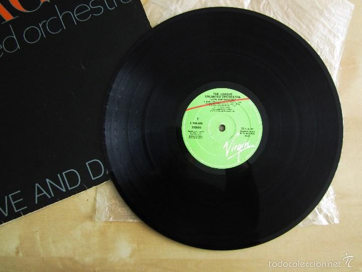 Discos de vinilo: THE LEAGUE UNLIMITED ORCHESTRA - LOVE AND DANCING - VINILO ORIGINAL 1982 EDICION VIRGIN - Foto 4 - 57102948