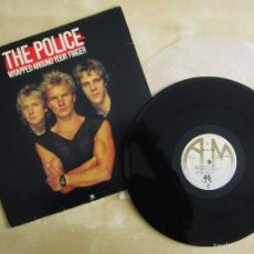 Discos de vinilo: THE POLICE - WRAPPED AROUND YOUR FINGER - 4 TRACKS MAXI SINGLE VINILO ORIGINAL 1983 AM RECORDS. Lote 57103311