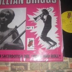 Discos de vinilo: LILLIAN BRIGGS LA GRAN SACERDOTISA DEL ROCK AND ROLL (COCODRILO -1985) EDITADO ESPAÑA. Lote 57103674