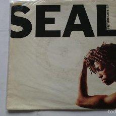 Discos de vinilo: SEAL (FUTURE LOVE EP) - FUTURE LOVE PARADISE / A MINOR GROOVE / VIOLET (EP EDIC. ALEMANA 1991). Lote 57106539