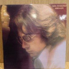 Discos de vinilo: NEIL DIAMOND. SERENADE. LP / CBS - 1974 / LUJO. ****/****. Lote 57108960